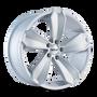 Touren TR71 Gloss Silver/Machined Face 20X10 5-112 40mm 66.56mm