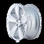 Touren TR71 Gloss Silver/Machined Face 20X10 5-120 20mm 74.1mm