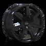 Touren TR65 Black 17x7.5 6-120/6-132 30mm 74.5mm