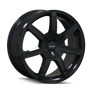 Touren TR65 Black 17x7.5 5-108/5-114.3 40mm 72.62mm