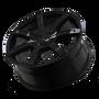 Touren TR65 Black 20x8.5 6-120/6-132 30mm 74.5mm