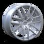 Touren TR60 HyperSilver 17x7.5 5-112/5-120 42mm 72.62mm