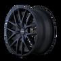 Touren TR60 Full Matte Black 20X8.5 5-112/5-120 40mm 72.62mm