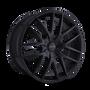 Touren TR60 Full Matte Black 20X8.5 5-108/5-114.3 40mm 72.62mm