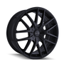 Touren TR60 Full Matte Black 17x7.5 5-110/5-115 42mm 72.62mm