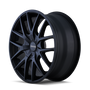 Touren TR60 Full Matte Black 17x7.5 5-110/5-115 20mm 72.62mm
