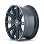 Touren TR40 Matte Black/Machined Face/Machined Lip 20X8.5 5-130 35mm 71.5mm