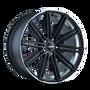 Touren TR40 Matte Black/Machined Face/Machined Lip 20X8.5 5-114.3 35mm 72.62mm