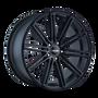 Touren TR40 Full Matte Black 20X8.5 5-130 35mm 71.5mm