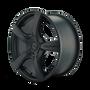 Touren 3190 Matte Black 19X8.5 5-108/5-114.3 40mm 74.1mm