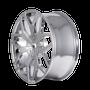 Mazzi 367 Profile Chrome 20x8.5 5-110/5-115 35mm 72.62mm