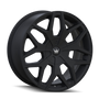 Mazzi 367 Profile Matte Black 24x9.5 5-115/5-120 18mm 74.1mm