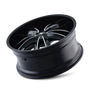 Mazzi 366 Obsession Gloss Black/Machined Face 24X9.5 6-135/6-139.7 30mm 108mm