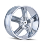 Mazzi 359 Boost Chrome 20X8.5 5-108/5-114.3 35mm 72.62mm