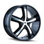 Mazzi 359 Boost Black/Machined Face 18X7.5 5-110/5-115 40mm 72.62mm