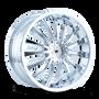Mazzi 351 Chrome 22X8.5 5-110/5-115 35mm 72.62mm