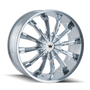 Mazzi 341 Fusion Chrome 22X9.5 5-115/5-120 18mm 74.1mm
