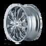 Mazzi 341 Fusion Chrome 20X8.5 5-108/5-114.3 35mm 72.62mm