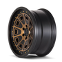 Mayhem Flat Iron Matte Black w/ Bronze Tint 17x9 5-127 -6mm 78.1mm