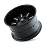 Mayhem Combat 8105 Gloss Black/Milled Spokes 20X9 5-150/5-139.7 0mm 110mm