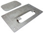 1989 to 1995 Toyota Pickup Shaved Tailgate Handle Relocator w/Filler