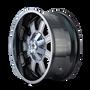 Mayhem Fierce 8103 PVD2 Chrome 22X12 8-180 -44mm 124.1mm