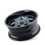 Mayhem 8100 PVD2 Chrome 20X9 5-127/5-139.7 18mm 87mm