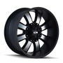 ION 189 Satin Black/Machined Face 18X9 8-165.1/8-170 0mm 130.8mm