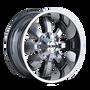 ION 189 PVD2 Chrome 17X9 8-165.1/8-170 -12mm 130.8mm