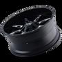 Ion 184 Satin Black/Milled Spokes 20X9 8-180 0mm 124.1mm