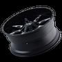 Ion 184 Satin Black/Milled Spokes 20X9 6-135/6-139.7 0mm 108mm