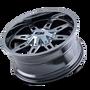 Ion 184 PVD2 Chrome 22X10 5-127/5-139.7 -19mm 87mm