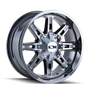 Ion 184 PVD2 Chrome 18X9 5-114.3/5-127 -12mm 87mm
