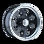 Ion 171 Black/Machined Lip 17X9 5-127 0mm 83.82mm