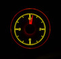 1955-56 Chevy Car Clock for HDX Instruments Illumination Color Yellow Flare