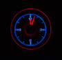 1955-56 Chevy Car Clock for HDX Instruments Illumination Color Ice and Fire