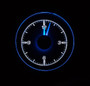 1955-56 Chevy Car Clock for HDX Instruments Illumination Color Ice White