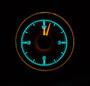 1955-56 Chevy Car Clock for HDX Instruments Illumination Color Wild Aqua