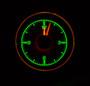 1955-56 Chevy Car Clock for HDX Instruments Illumination Color Emerald
