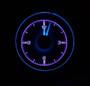 1955-56 Chevy Car Clock for HDX Instruments Illumination Color Vivid Orchid
