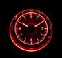 """3"""" Round Universal VHX Clock Red Night View"""