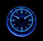 """3"""" Round Universal VHX Clock Blue Night View"""