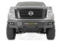 Nissan Heavy-Duty Front LED Bumper (16-19 Titan XD) - front view of bumper on vehicle
