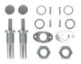 1982-1993 Chevy S10 and Blazer Bolt In Shaved Door Kit - AVS Billet Door Pushers