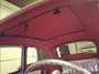 """39"""" X 43"""" Two Fold Sliding Rag Top """"1953-1976 Type 1 - VW Beetle Curve"""" - displayed with ragtop closed with headliner"""