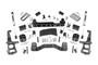 4in Ford Suspension Lift Kit (15-19 F-150 4WD) - Strut spacers w/ V2 monotube shocks