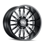 Cali Offroad Summit Gloss Black/Milled Spokes 20x9 6x5.50 -12mm 106mm