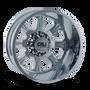 Cali Off-Road Brutal Rear Chrome 22x8.25 8x210 -180mm 154.2mm