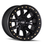 Dirty Life DT1 Matte Black w/ Simulated Beadlock Ring 17x9 8x170 -12mm 130.8mm