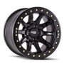 Dirty Life DT2 Matte Black w/ Simulated Beadlock Ring 20x9 6x139.7 12mm 106mm